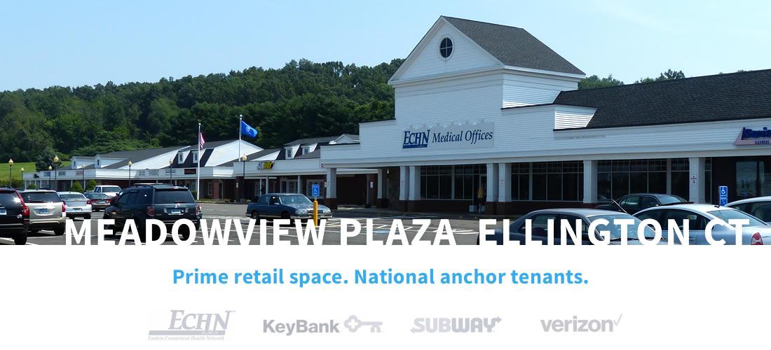 Meadowview Plaza, Ellington CT